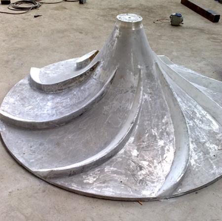 双曲面搅拌不锈钢叶轮